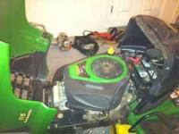 Im asking $600 obo its an 05 with a 19 hp motor an 42in