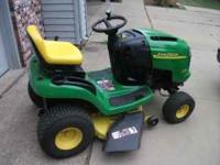 For Sale: 2005 John Deere L108 Riding Lawn Mower with a