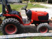 2005 Kabota B7510 with 152 hours on it, 4WD its
