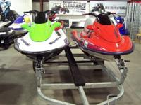 TWO BOATS & DOUBLE TRAILER 1999 ULTRA 150 RED & 2005