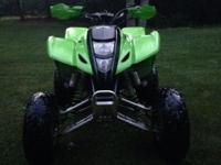I have a 2005 Kawasaki kfx 400 that is in great shape.