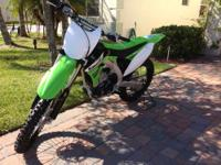 2005 KX 250F. Runs great, very clean overall. Nearly