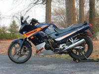 Up for sale is a 2005 Kawasaki Ninja EX250 with only