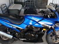 2005 Kawasaki Ninja 500R for sale, one owner, clean
