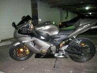 For sale - 2005 Kawasaki Ninja 636/ ZX-6R. Lovely bike,