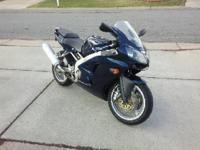 Kawasaki Ninja 600 for sale. 2005 model. 33,400 miles