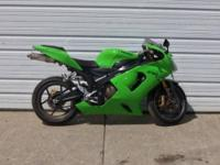2005 Kawasaki Ninja ZX-6RR is super clean and has only