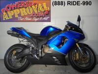2005 Kawasaki Ninja ZX636 ZX6R for sale with only