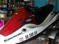 Don't miss this deal. This jet ski looks like it just