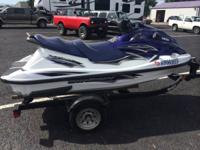 Up for sale is my 2005 wave runner.  It is a 3 seater 2
