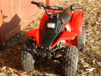Kids 4 wheel ATV for Sale! Fast/Fast/Fast but Safe! It
