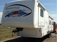 2005 Keystone Montana Mountaineer. With a predominantly