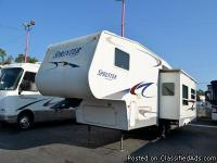 2005 KEYSTONE SPRINTER, 276 RL FIFTH WHEEL Come and See