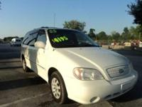 Options Included: N/A2005 KIA SEDONA! Call Robert