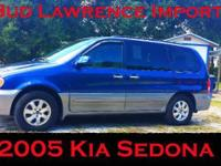 2005 Kia Sedona, 82,831 miles. Price: $4,999. Year: