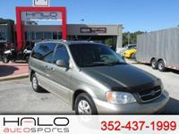 2005 KIA SEDONA LX MINI VAN- RUNS GREAT AND LOOKS