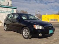 For sale; 2005 Kia Spectra Hatchback 5D! 4 cylinder