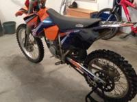 2005 KTM 125 SX, ** TONS OF UPGRADES ** This bike is