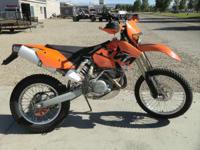 2005 KTM 525 EXC Racing Street legal FMF exhaust and