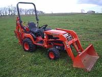 2005 Kubota BX 23 Tractor/Loader/Backhoe Specs: 22hp 3