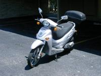 2005 KYMCO SCOOTER. I AM THE THIRD OWNER AND HAVE OWNED