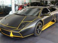 This is a Lamborghini Murcilago for sale by Euro