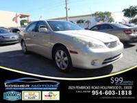 Options:  2005 Lexus Es 330 Base 4Dr Sedan|Silver|No