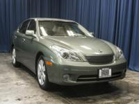 Clean Carfax Sedan with Driver Memory Seat!  Options: