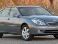 Come see this 2005 Lexus ES 330 . Its Automatic