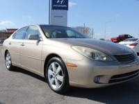 2005 Lexus ES 330 FWD 5-Speed Automatic with Overdrive