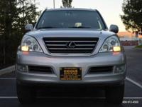 Options:  2005 Lexus Gx 470 4Wd 4Dr Suv|Silver|4Wd Type