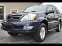 BEAUTIFUL 2005 LEXUS GX 470 LUXURY SUV - BLUE MERIDIAN