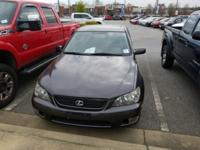2005 LEXUS IS 300 Has a Clean Carfax, Leather,