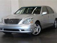 2005 Lexus LS 430 4dr Sdn Sedan Condition:Used Clear