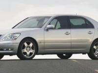 2005 Lexus LS 430 in Grey. Check out the price? WOW!