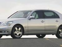 LS 430, 4.3L V8 SMPI DOHC, and 6-Speed Automatic