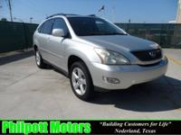 Options Included: N/A2005 Lexus RX 330, silver with