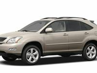Options:  2005 Lexus Rx 330 Base|Clean Carfax.