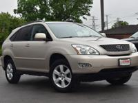 Clean CARFAX. Savannah Metallic 2005 Lexus RX 330 AWD