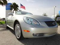 SC 430 trim. CARFAX 1-Owner, Spotless, ONLY 40,551