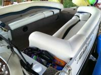 This is a one owner gently utilized deck boat. The
