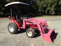 Sold new in 2005 this tractor only has 210 hours of