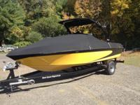 2005 Wakesetter with the Monsoon engine 340 HP. 530