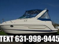 VERY CLEAN 2005 MAXUM 2900 SE EXPRESS CRUISER AND