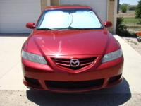 For sale: 2005 Mazda 6. Asking $9000 cash. Title is
