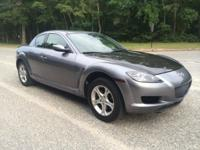 2005 Mazda RX-8, 135,801 miles. Cost: $4,500. Year: