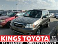 CARFAX One-Owner. Clean CARFAX. Gray 2005 Mazda Tribute