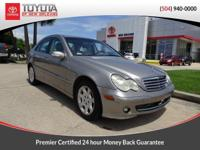 Beige 2005 Mercedes-Benz C-Class C240 Luxury RWD