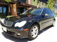 2005 MERCEDES BENZ C240 STATION WAGON! THIS IS A VERY