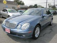 2005 Mercedes E Class once you shut the door, it feels